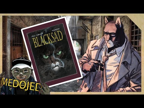 Čítárna: Blacksad  Kdyby byl Philip Marlowe kočka 