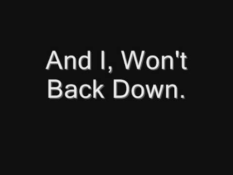 Tom Petty and The Heartbreakers - I Won't Back Down (lyrics)