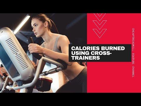 Calories Burned Using An Elliptical Cross Trainers