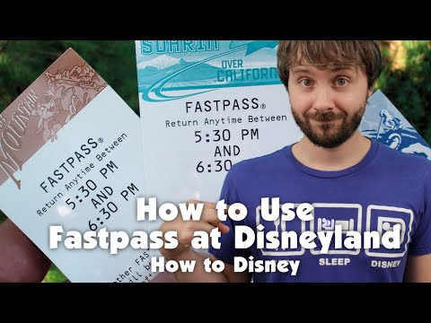 HOW TO USE FASTPASS AT DISNEYLAND - How 2 Disney
