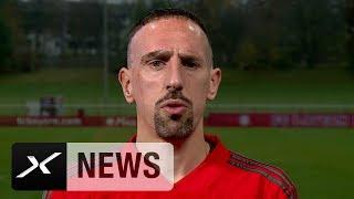 Ribery entschuldigt sich für Journalisten-Zoff | FC Bayern München | SPOX