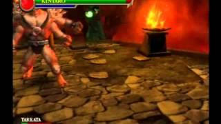 Mortal Kombat Shaolin Monks Kintaro Gameplay HQ