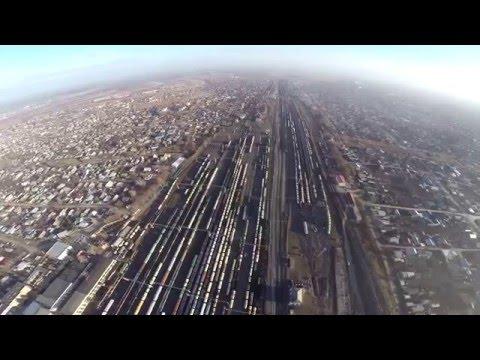 Крупнейший железнодорожный узел г. Кинель