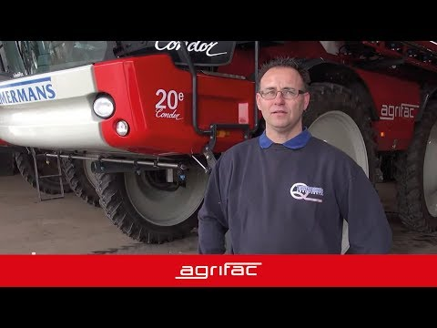 Gebruikerservaring van Harm Timmermans van Agri Service over de Agrifac Condor