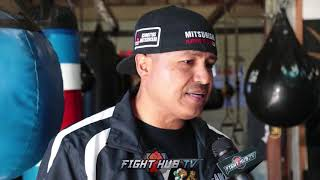 """ROBERT GARCIA """"RIOS STILL HAS A FEW FIGHTS LEFT, VICTOR ORTIZ, THATS THE FIGHT WE WOULD DO!"""""""