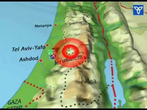 outstanding Explanation: Why Israel can't withdraw to its pre '67 borders line - Please Share