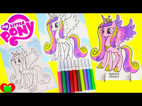 Thumbnail: My Little Pony Pop Outz Coloring Princess Cadance, Shopkins, Palace Pets and More