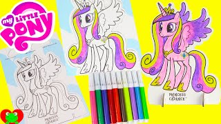 My Little Pony Pop Outz Coloring Princess Cadance, Shopkins, Palace Pets and More