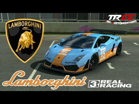 Real Racing 3 Car Customization: Lamborghini Gallardo LP560 GT3