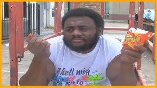 ANGRY BLACK MAN EATS BK'S MAC N' CHEETOS!   @SIGGAS