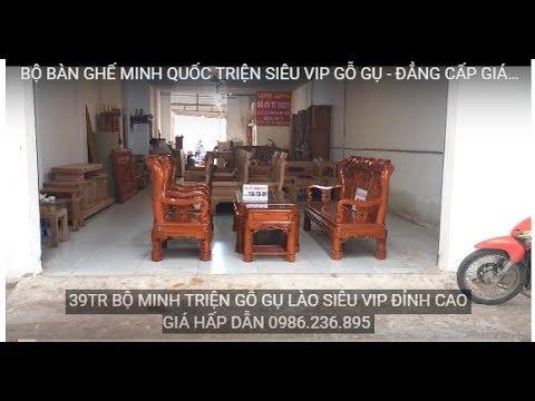 BỘ BÀN GHẾ MINH QUỐC TRIỆN SIÊU VIP GỖ GỤ – ĐẲNG CẤP GIÁ RẺ BẤT NGỜ | ĐỒ GỖ LINH LONG