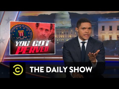 The FBI (Once Again) Examines Hillary Clinton's Emails: The Daily Show