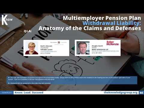 Multiemployer Pension Plan