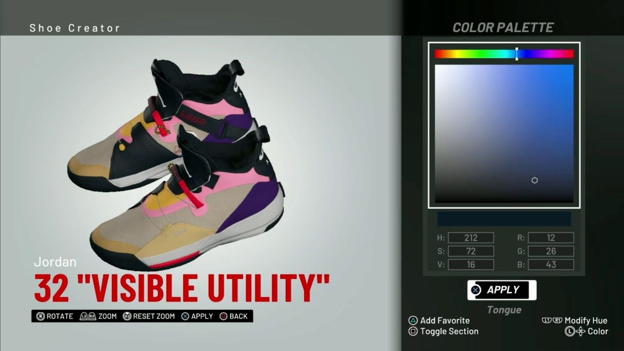 82dbb8a687d0a9 NBA 2K19 Shoe Creator