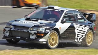 800Hp Subaru Impreza WRC || Alister McRae´s All Time Record - Leadfoot Festival