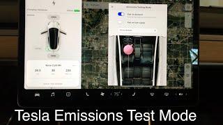 Tesla Model 3 - Emissions Testing Mode (Fart)