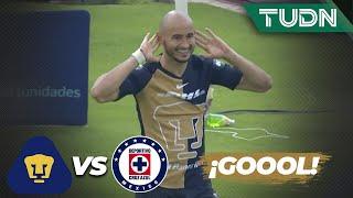 ¡GOOL de González! Pumas se estrena en la copa | Pumas 1 - 0 Cruz Azul | Copa por México | TUDN