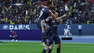 FIFA 18 PSG VS Nice Gameplay