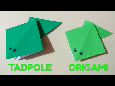 How to Make a Paper Frog that Jumps High   Origami / Paper Folding Craft, Videos and Tutorials