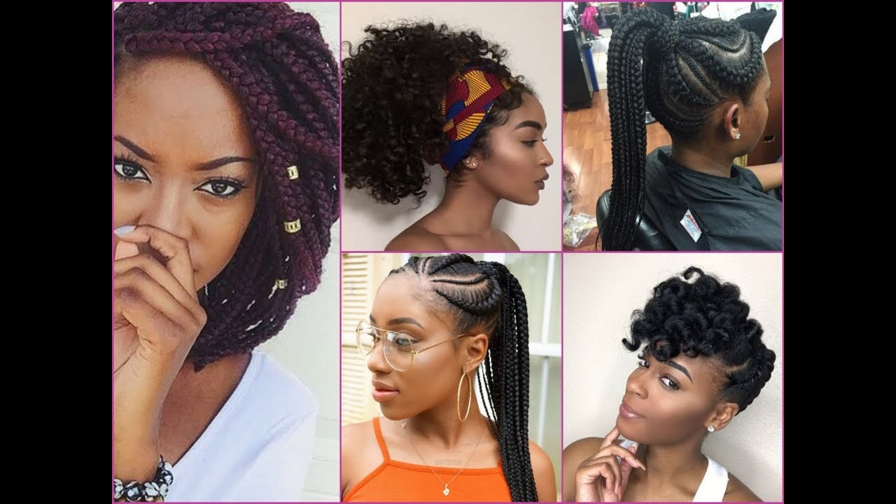 2018 inspiring summer hairstyle ideas for african american womens
