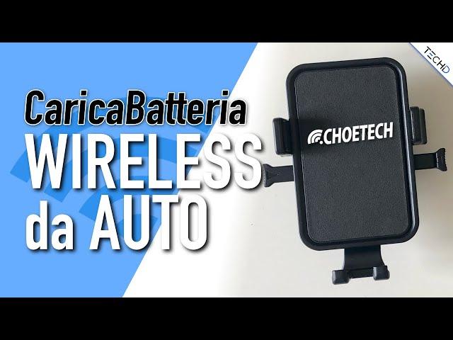 Choetech - #Caricabatteria & Supporto da Auto Wireless