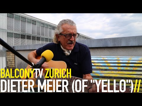 """DIETER MEIER (OF """"YELLO"""") - WHY THIS WHY THAT AND WHY? (BalconyTV)"""