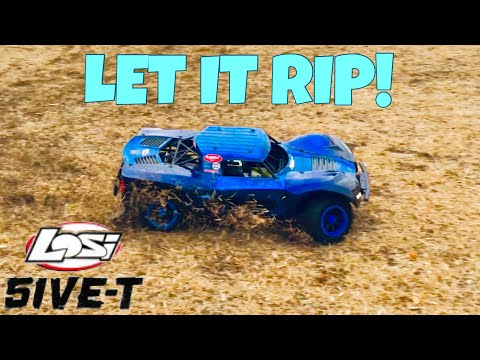 LOSI 5IVE-T TEARING IT UP! (PART 3)