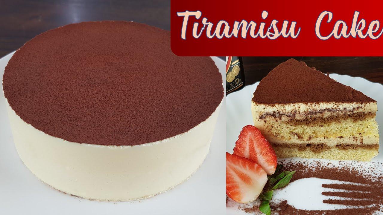 Cách làm Tiramisu Cake | Mách bạn cả cách làm bánh không cần lò nướng cũng không cần máy đánh trứng