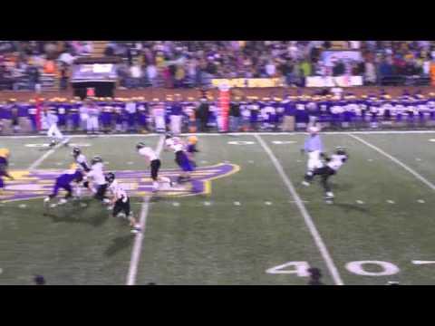 Punting 12-4-10 State Championship, Greg Colquitt