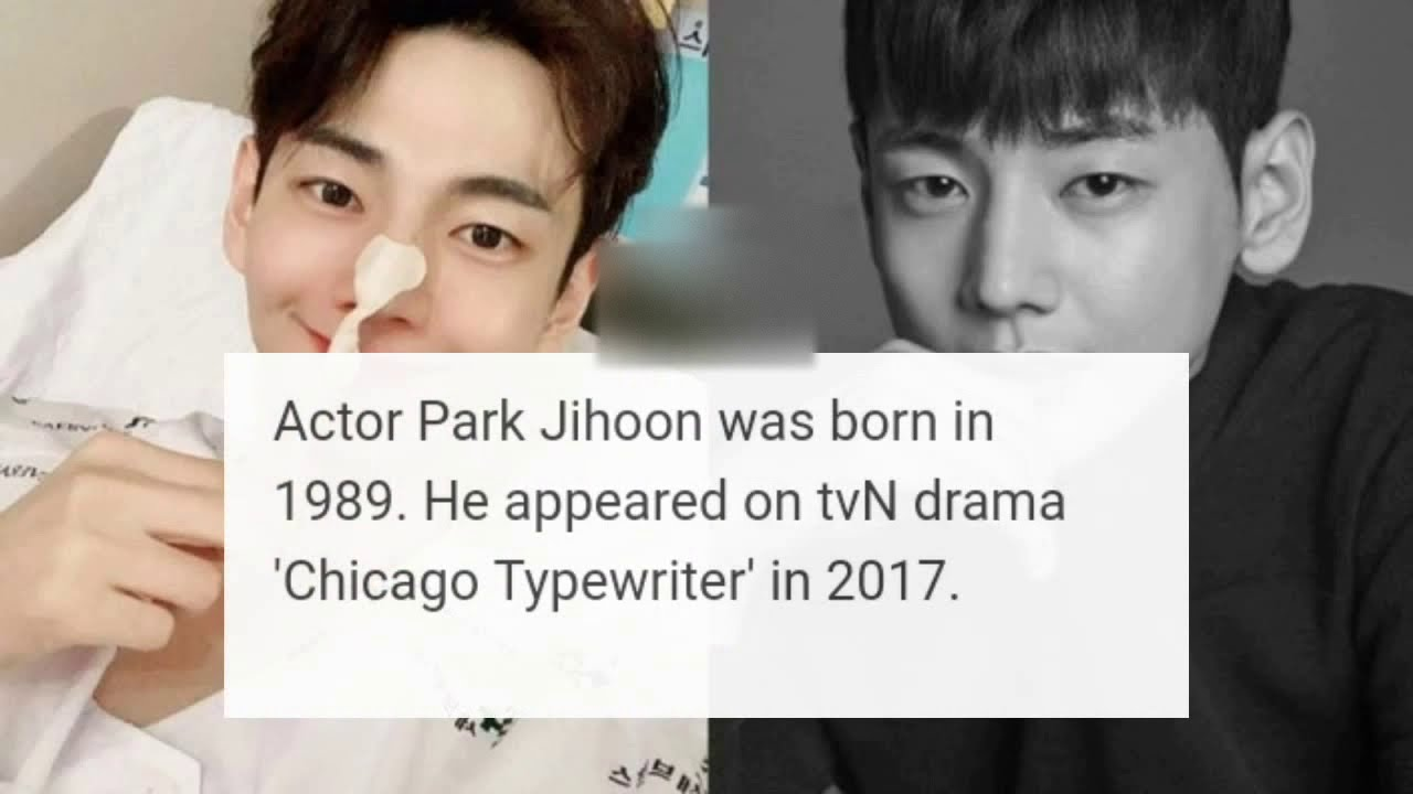 Actor Park Jihoon Died While Battling Stomach Cancer Youtube