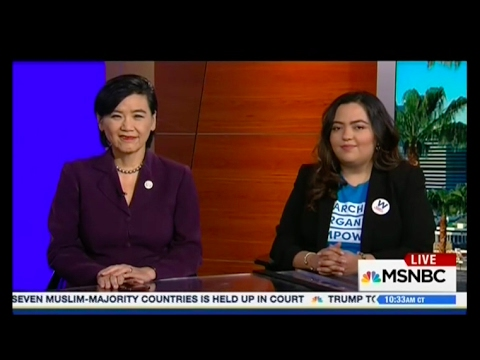 Wendy Carrillo | Wendy talks with MSNBC