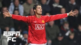 On this date: Cristiano Ronaldo scores only hat trick for Manchester United (2008) | ESPN FC Archive