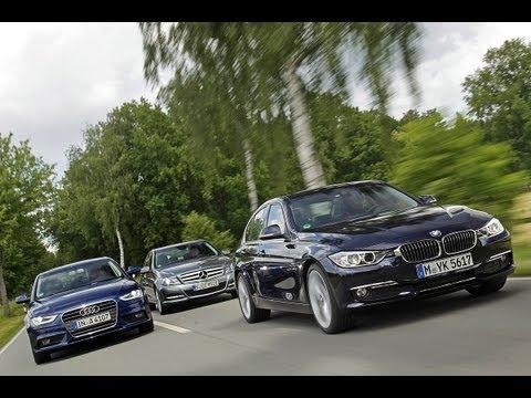 Mercedes C-Klasse, BMW 3er, Audi A4 - Die Mittelklasse: So dynamisch wie nie