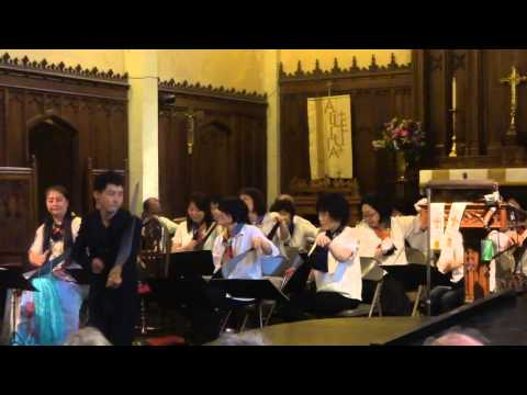 NYC Musical Saw Festival 2015- Japanese Saw Orchestra, Part 1