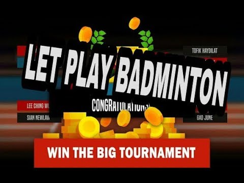 Let's play badminton together