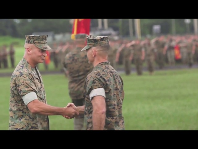DFN:2nd Marine Division Change of Command NC, UNITED STATES 08.02.2018