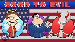 American Dad Characters: Good to Evil