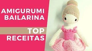 Como Fazer Amigurumi Boneca – Receitas Amigurumi Passo a Passo em ... | 180x320