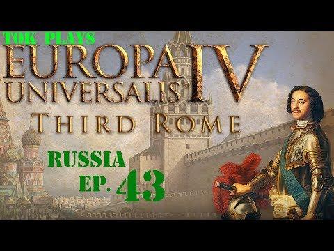 Tok plays EU4: Third Rome - Russia ep. 43 - Big War, Small Gain  