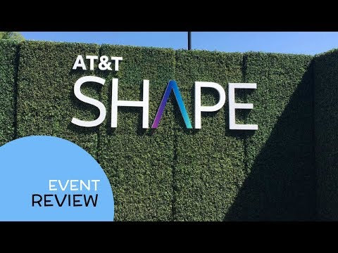 Event Review: AT&T Shape Conference