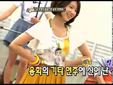 Nice Shin Hye dancing !!!! cute Park Shin Hye KPOP