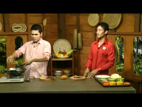 Khmer Vegan Cooking Show - Chantha and Chou