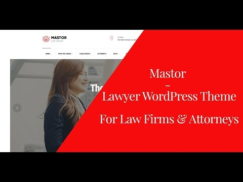 Mator - Lawyer WordPress Theme for Law Firms & Attorneys | Introduction