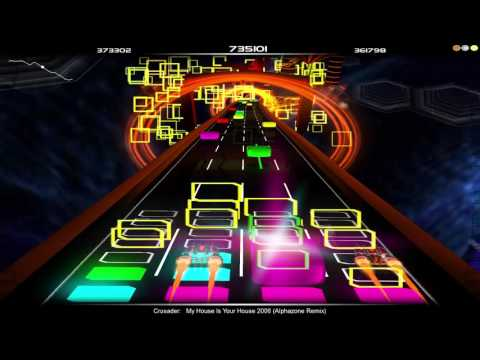 Audiosurf: Crusader-My House Is Your House 2006 (Alphazone Remix) [DVE]