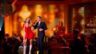 All i want for Christmas is you Michael Buble and Mariah Carey at 3rd annual christmas Special 2013