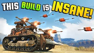 Crossout - THIS BUILD IS INSANE! My New Favorite Part & Random Generated Cars (Crossout Gameplay)