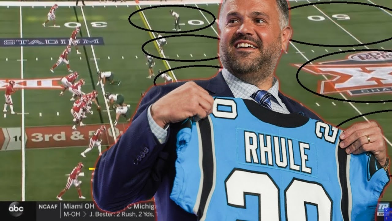 Film Study What Matt Rhule Will Bring To The Carolina Panthers Youtube