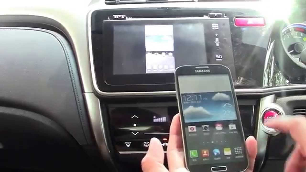 Car Wallpaper For Android Mobile Honda City 2014 Hdmi Wireless Mirrorlink Youtube