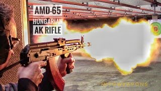 FEG AMD-65 AK Rifle:  Shooting At the Range!