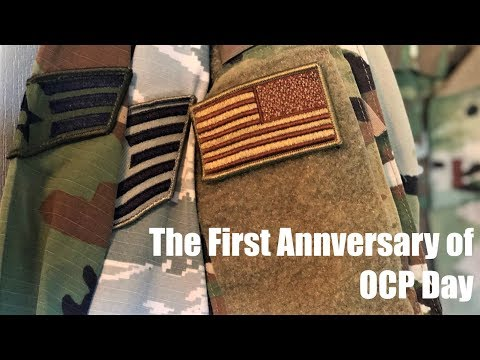 First Anniversary Of OCP Day! Air Force OCP Wear, Ver. 2